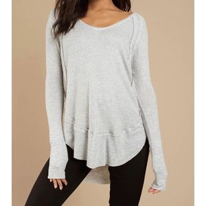 NWT FREE PEOPLE CATALINA THERMAL TOP